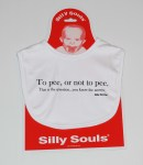 Silly Souls Baby Bib To Pee