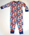 Boys Sleepsuit Onesie Paul Frank Blue