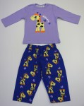 Girls Pyjamas Tweet Twoo Giraffe Print