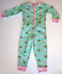 Paul Frank Girls Sleeper Onesie